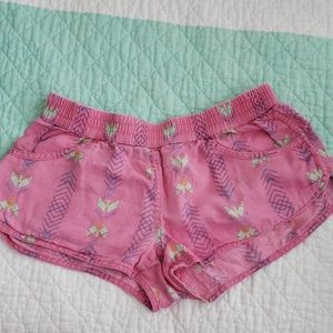 Volcom cottons pink cute shorts